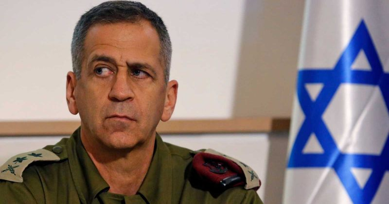 ისრაელის არმიის მეთაური: ირანის ბირთვულ პროგრამაზე იერიშის გეგმებზე აქტიურად ვმუშაობთ