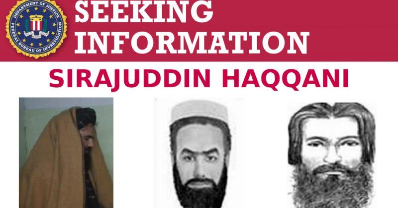 ავღანეთში თალიბანის დანიშნული შინაგან საქმეთა მინისტრი FBI-ის ძებნილთა სიაშია