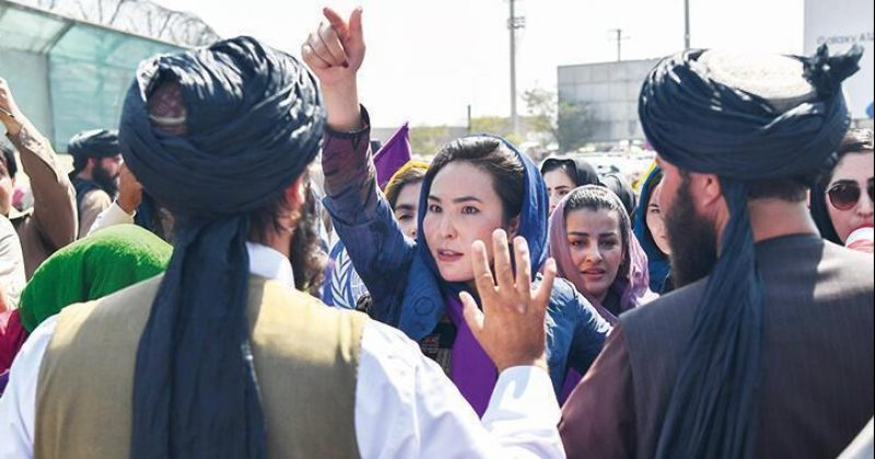 თალიბანმა ავღანელ ქალებს მხოლოდ საპირფარეშოების დალაგების უფლება მისცა