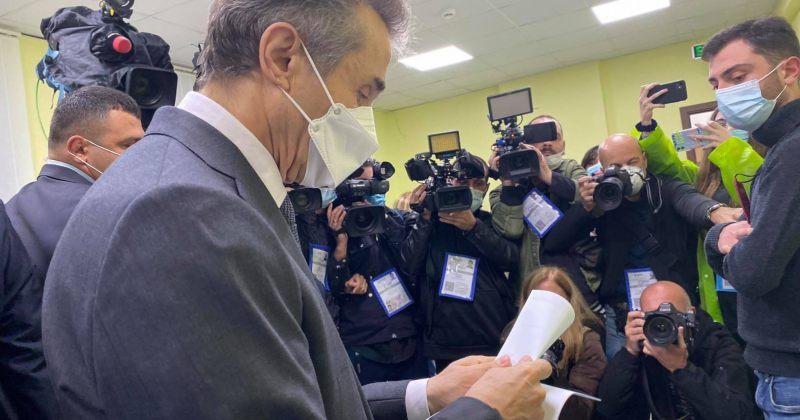 ბიძინა ივანიშვილმა ხმის მიცემის შემდეგ საარჩევნო უბანი უკომენტაროდ დატოვა (VIDEO)