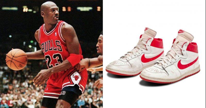 მაიკლ ჯორდანის სპორტული ფეხსაცმელი აუქციონზე $1.47 მილიონად გაიყიდა