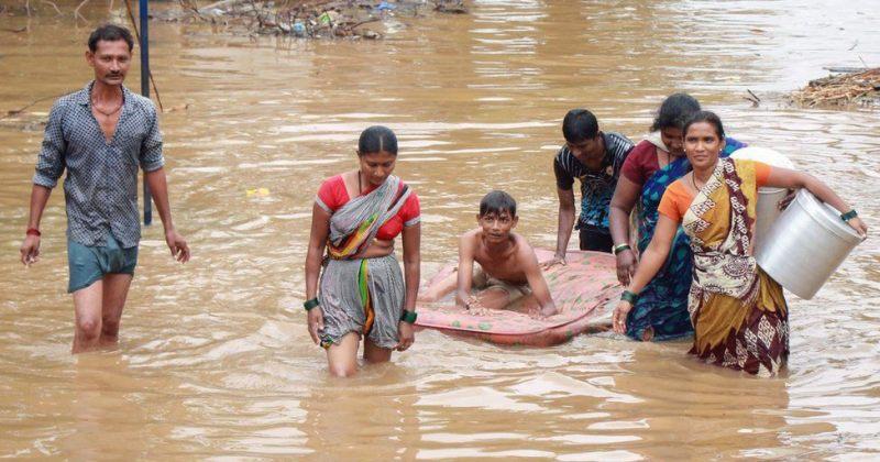 ინდოეთსა და ნეპალში წყალდიდობას 180 ადამიანი ემსხვერპლა