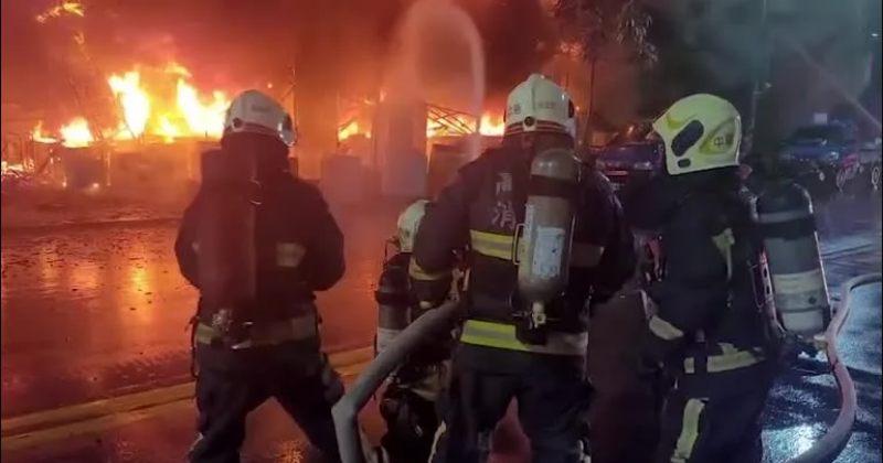 ტაივანში საცხოვრებელ კორპუსში გაჩენილი ხანძრის შედეგად 46 ადამიანი დაიღუპა