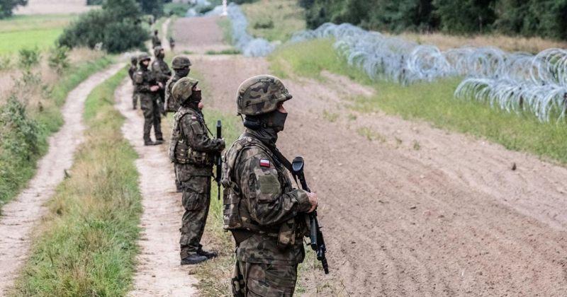პოლონეთმა ბელარუსის საზღვარზე სამხედროების რაოდენობა თითქმის გააორმაგა