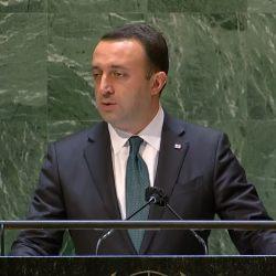 ვამაყობ ქართული ოცნების მუშაობით, ძლიერი დემოკრატიის შექმნით – ღარიბაშვილი გაეროს სხდომაზე